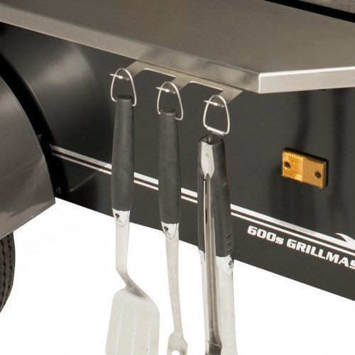 Clip on BBQ/grill tool holder accessory
