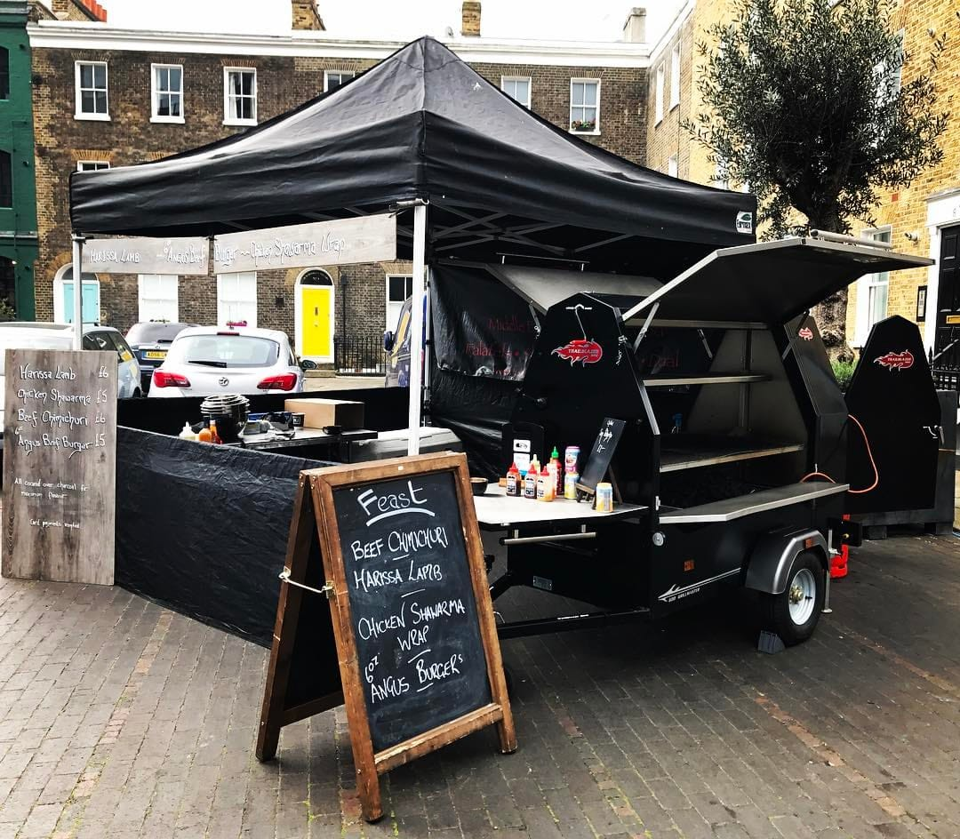 Catering success Stories, street food BBQ