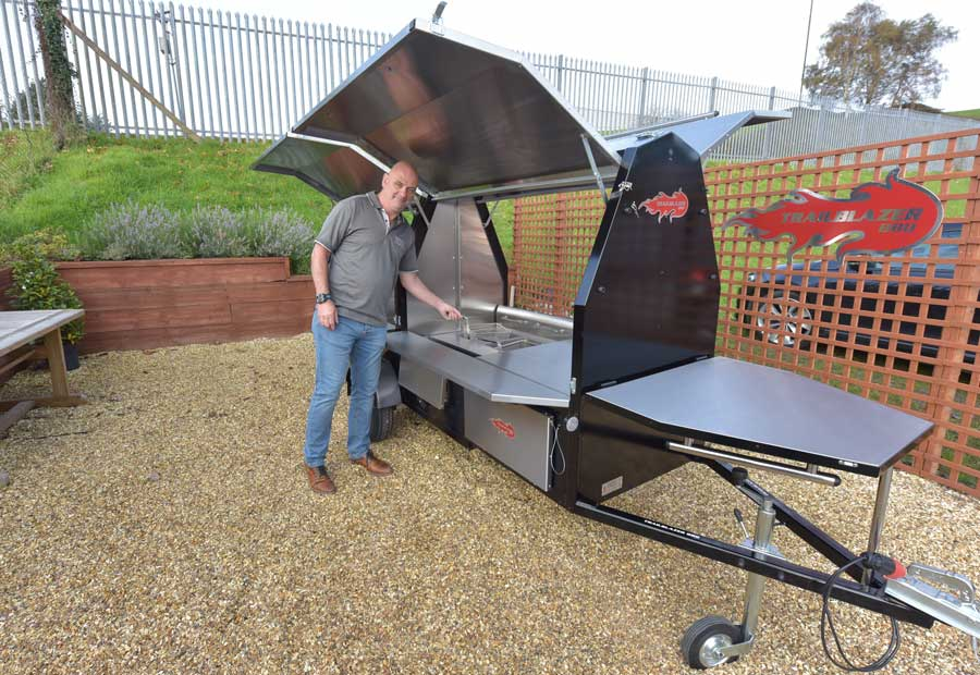 Chip Trailer, Mobile Grill