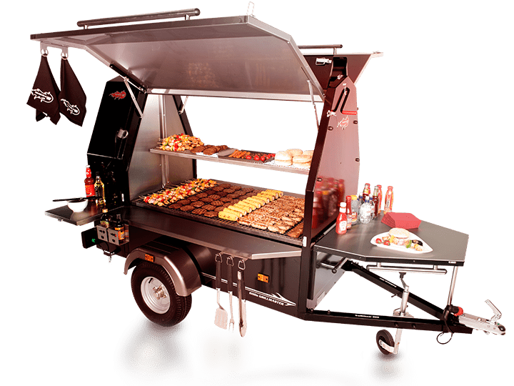 Trailblazer Commercial BBQ Trailer