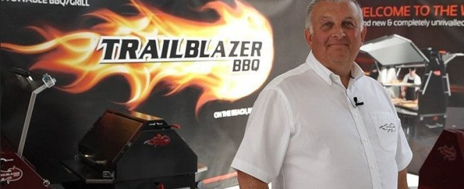 Founder of Trailblazer BBQ trailers, towable bbq manufacutrer